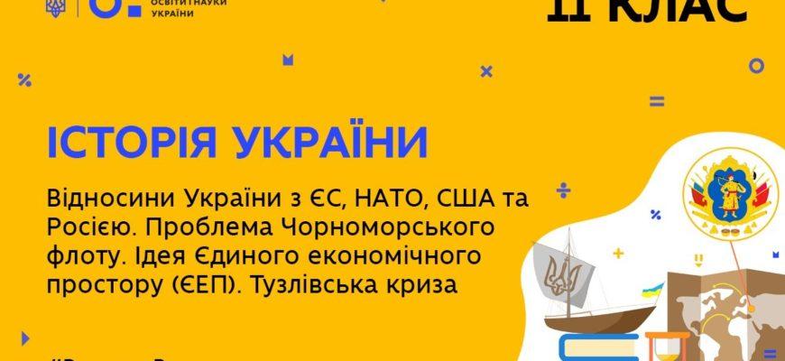 Відносини України з ЄС, НАТО, США та Росією. Тузлівська криза