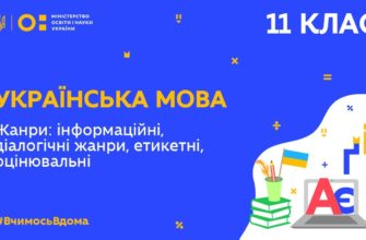 Українська мова. Жанри інформаційні, діалогічні жанри, етикетні, оцінювальні