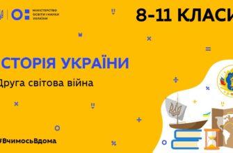 Історія України. Друга світова війна